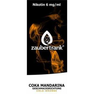 Zaubertrank Coka Mandarin - 6mg