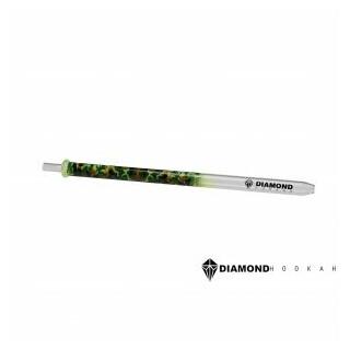 Diamond Hookah Glasmundstück Camouflage Grün