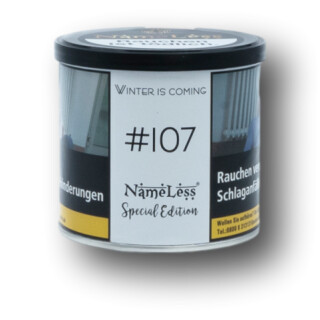 NameLess Tobacco - #107 Winter Is Coming 200g