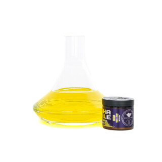 Shisha Bubble - Farbpulver - Neon Yellow Glow in the Dark 50g